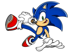 Sonic Adventure-Style Lost World Pose Drawing by StudioPEP