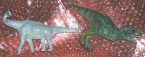 brachio y t rex repaint by Mechanic-Star