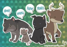 The Marauders, in the Fur by myarmcanfly