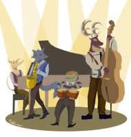 Jazz Animal :: Showtime by Space-Jacket