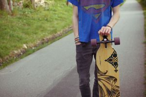 longboard by hannapictures