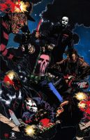 The Punisher Descent Into Darkness by CDL113