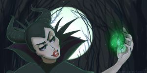 Maleficent by SOLAR-CiTRUS