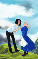 Howl and Sophie by Sturzstrom