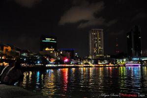 Singapore Clark Quay by flatline06
