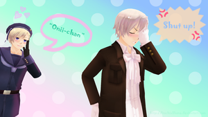 APH MMD: Shut Up! by ItachiXShana