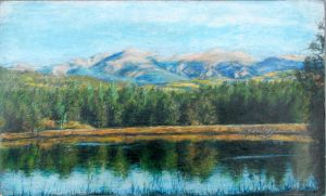 mountains from angel fire by namtra9