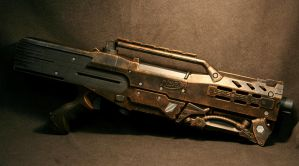Steampunk Longshot 90 percent by JohnsonArms