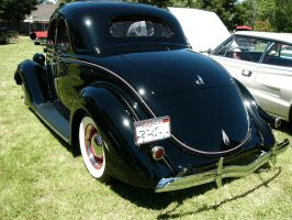 1936 Ford V8 coupe butt by RoadTripDog
