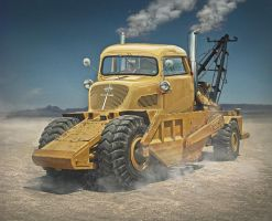 WasteLand TowTruck by Andirilien