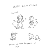 dream drop kittehs by ssceles