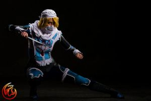 FantasyCon Cosplay shoot Sheik: Super Smash Bros2 by VFire