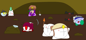The Great Cave Collab by HegyThePuffball01