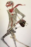 Messenger Fashion Boy by Lucianomie