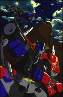 Another Optimus prime by The-Solidstrike