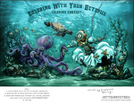Coloring With Your Octopus: Diving by fingalificated