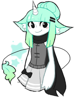 mint chocolate chip by kniickers