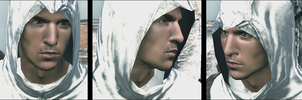 Altair face - screenshot by KanahaniART