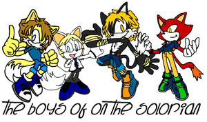 The Boys of 'On the Solorian' by BingotheCat