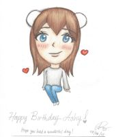 HB Ashy~! by narusilvermoon98