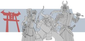 Ronin Outlaws by Kuritarou