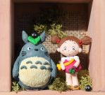 Totoro and May clay by tanadelbianconiglio