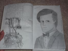 TARDIS journal-pages 3-4 by DragonsAndDreamscape