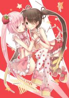 ~strawberry x chocolate pocky~ by YUKI-02