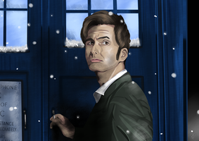 Doctor Who - 10th doctor by ImmortalBerry