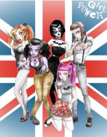 Spice Girls Makeover by sera-era