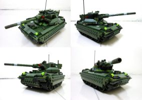 Lego Compact Tank 12.1 by SOS101