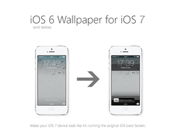 iOS 6+below Lock Screen Theme for iOS 7 by osullivanluke