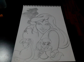 Ariel, The Little Mermaid from Disney by OoMeli