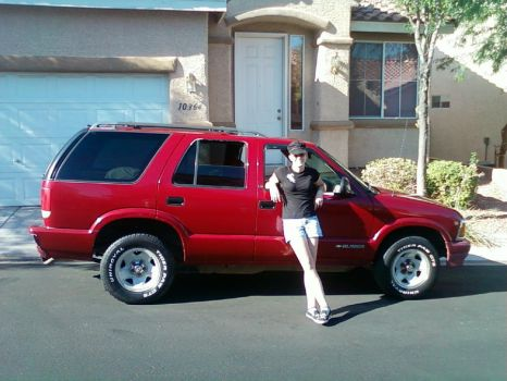 Me and my new truck by luminariasellaiia