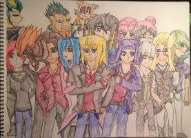 Our Big Barian Family by michaelthedragon39