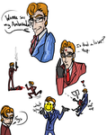 Philip Doodles by AgentMoore