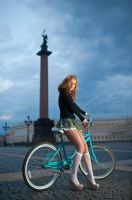 bicycle tour by DenisGoncharov