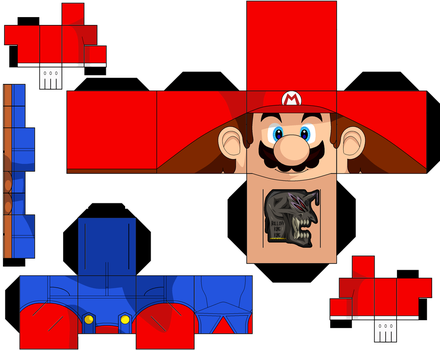 Mario Redo by hollowkingking