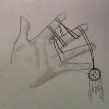 Practice Hand Drawing... Thing by Super-Sonic-Boom12