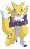 Renamon waiting by CoolProjects