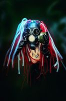 Cybergoth Danger! by Elena-NeriumOleander