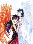 Himizu - Fire and Water by laikaken