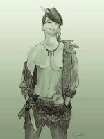 Peter Pan by Samuii