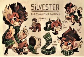 Silvester Ref. Sheet [Commission] by Baraayas