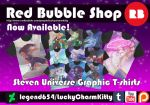 Red Bubble Shop Steven Universe T-shirts by legend654