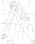 Commission: Calm Moment by paranoidiomatic
