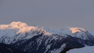 Landscape - Mountains by Horselover60-Stock