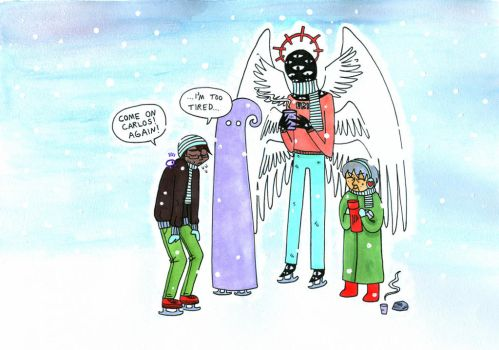 Snow in Night Vale by wooditus
