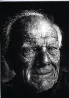 Malcolm Muggeridge by KimDingwall