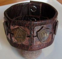 Harry Dresden Shield Bracelet by Peaceofshine